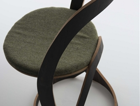 Exuding a Playful Modern Character: Pi Chair by Christoph Steiger
