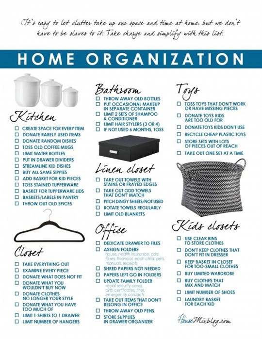 So you know my game plan, now here's a breakdown of what I did to simplify and organize each space in my house