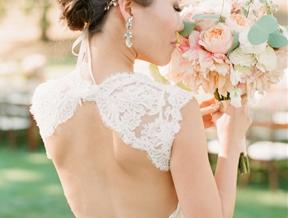 Elegant 4th of July Vineyard Wedding