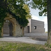 Sparrenberg Castle visitor centre by Max Dudler boasts striated concrete walls
