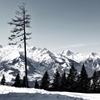 2ndvision:  Lonesome. Austrian Alps. 20140203