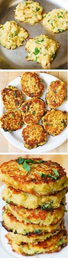Spaghetti Squash, Quinoa and Parmesan Fritters | healthy recipe ideas @xhealthyrecipex |