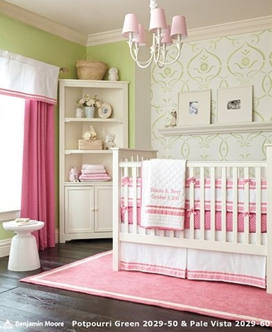 idea for baby girl room