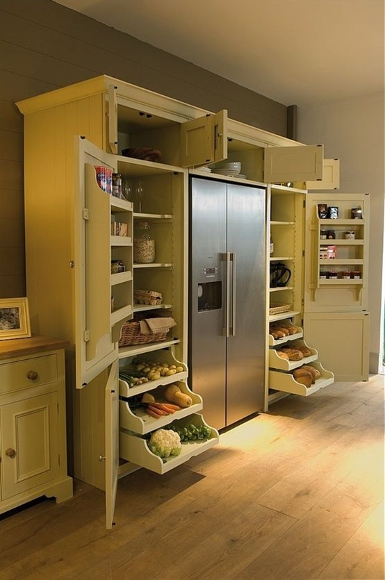 It reduces efficiency of the fridge, too. It's a good looking setup, but would be nicer with some considerations for heat.