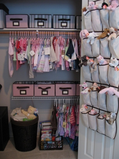 OMG yes!  With a nursery I love that you can take advantage of the time you have to plan it.  Is there any other room in the house where you get to plan the storage of items BEFORE you actually acquire the items rather than always playing catch-up?