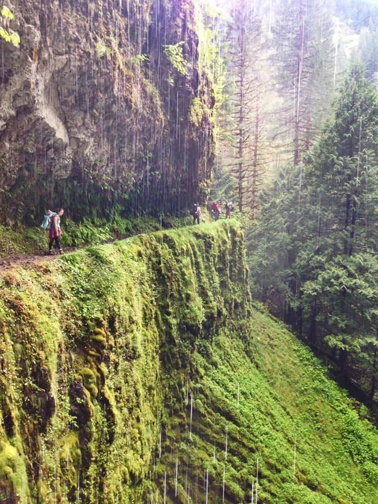 tunnel falls hike, Columbia River Gorge