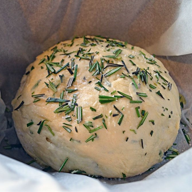 fresh rosemary, chopped, divided, 3 tablespoons extra virgin olive oil ...
