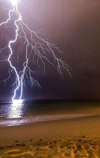 I used to watch nightly thunderstorms over the Atlantic when I lived at Cape May.