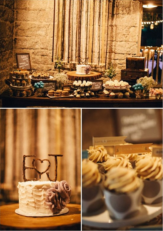 Rustic Military Wedding photographed by Brightwood Photography and designed by Melissa Elise Event Design + Styling at Temecula Creek Inn