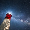 """Nauset, Galactic"" - A nearby spotlight shining through some..."