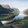 One of the many Norwegian Fjords… photo © Rob Sese ...
