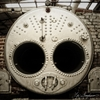 Look Into My Eyes :: Steampunk vibe in the boiler house at...