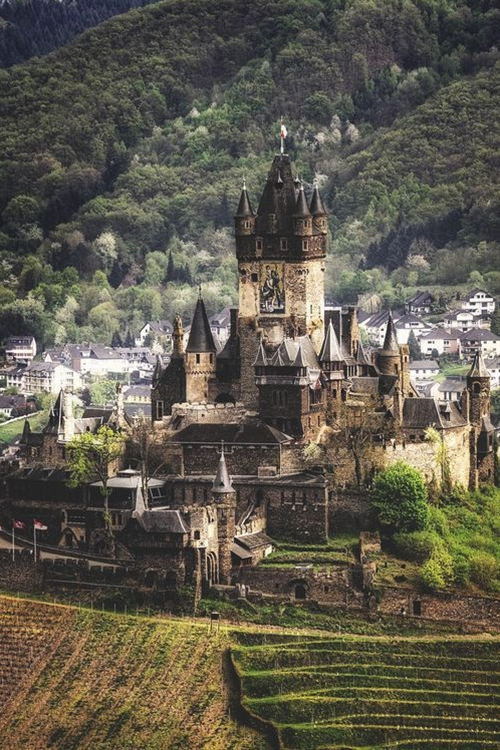 I've actually been to this castle…many times while stationed in Germany.  It's amazing!