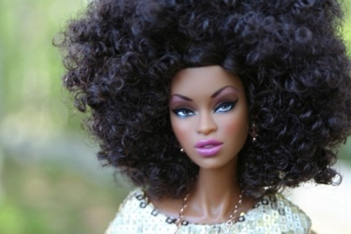 Natural Hair Barbie  natural-hair