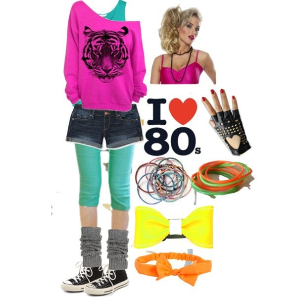 80s Day at School - Polyvore