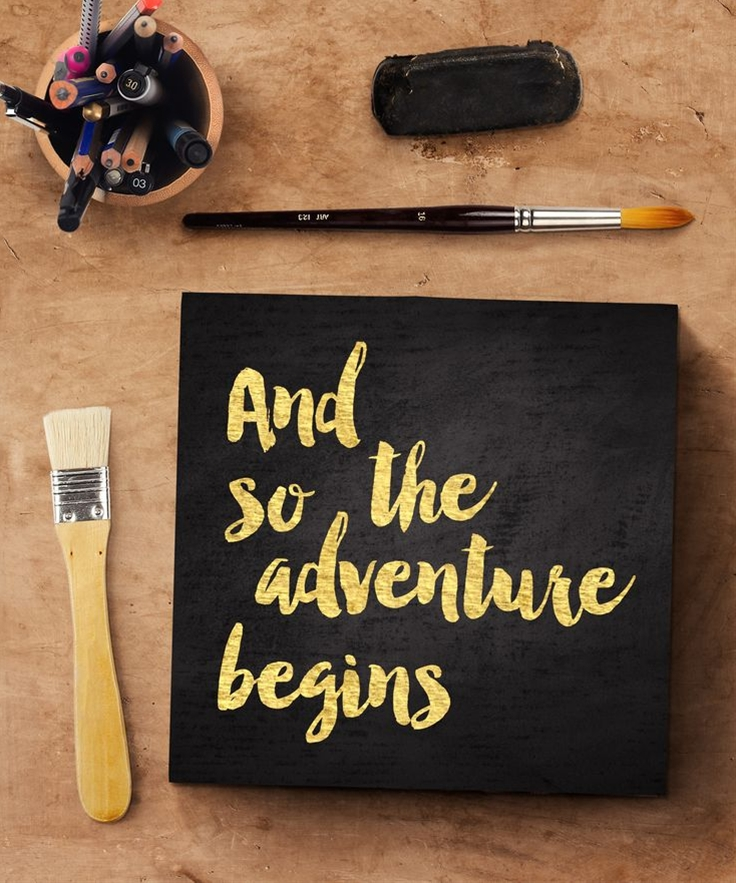 And so the Adventure Begins... #Engagement #Graduation #gifts Reclaimed solid wood art from BirdRow Prints
