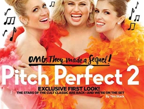 """""""Pitch Perfect 2"""" Cast Stars in Entertainment Weekly Shoot"""