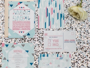 Colorful, Sparkly & Modern Wedding Ideas + ELD's 5 Year Blogiversary!