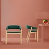 Minimalist Furniture Duo Enhancing Modern Spaces: Oslo Chair & Valentino Bench
