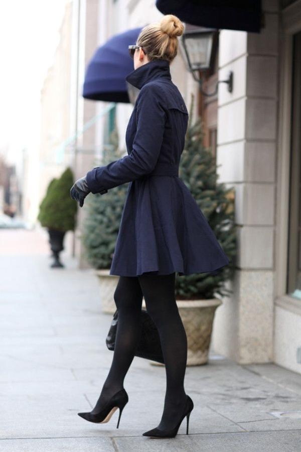 nice navy coat