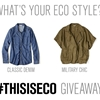 Enter to Win: Eileen Fisher Eco Giveaway