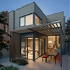 "Optimizing Living Spaces: Bright and Inviting ""Through House"" in Toronto"