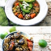 Karina's Roasted Hatch Chile Stew with Sweet Potato, Corn + Lime