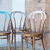 DIY PAINT DIPPED CHAIRS