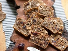 Recipe: Hazelnut & Cherry Whole-Grain Crackers — Snack Recipes from The Kitchn