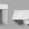 Intriguing Snap-Together Marble Tables: Annex by Joe Doucet