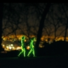 Glowing 3D-printed characters explore LA in Cut Copy's music video