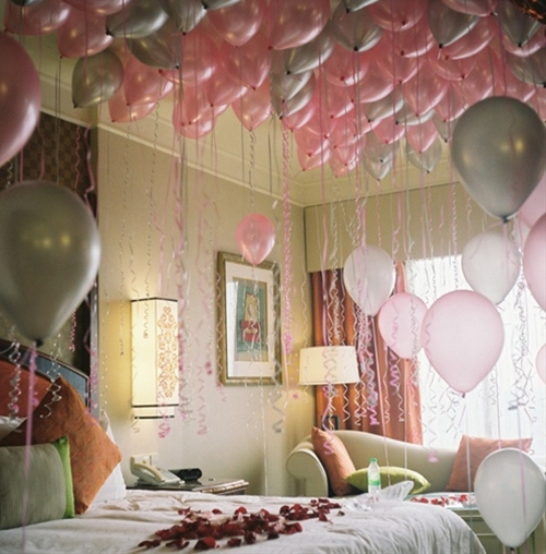 Fill their bedrooms with balloons before they wake up on their birthday!