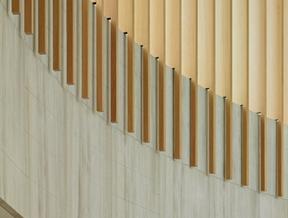 Courtyard becomes rotunda inside Toronto university building by Moriyama & Teshima