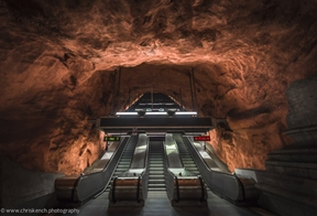 Rådhuset station, Stockholm by chriskenchphotography.tumblr.com