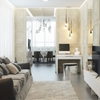 Contemporary Apartment Design with Classical Features (Floor Plans Included)