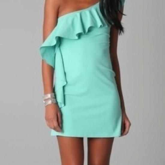 Teal dress <3