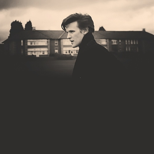 Gosh I love his HAIR!!    and honestly Matt Smith could make wearing a trash bag cool!