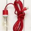 DIY Ceiling Light Ideas Incorporating Red West Elm Cord? — Good Questions