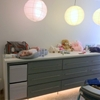 Repurposed EXPEDIT-KALLAX-MALM hybrid for Remodeled Nursery
