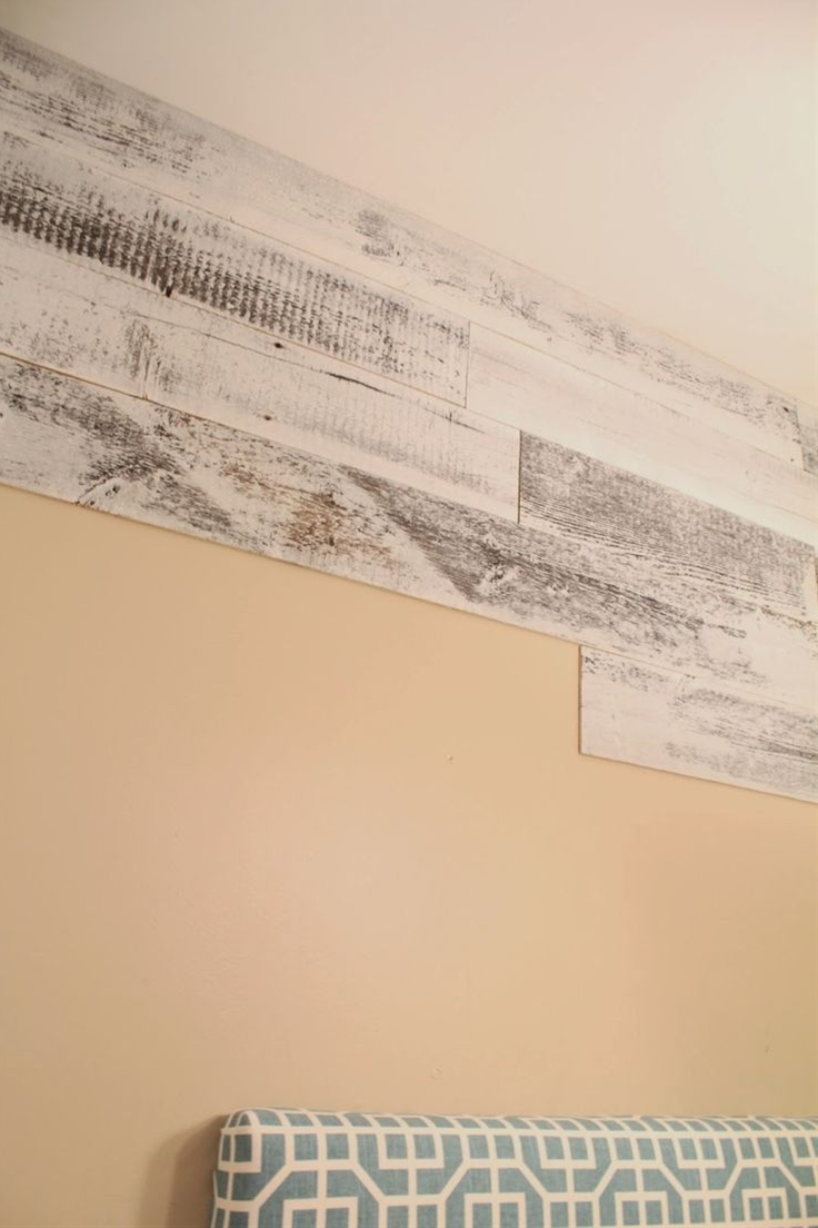 No. 29 design: Stikwood - peel and stick wood planking