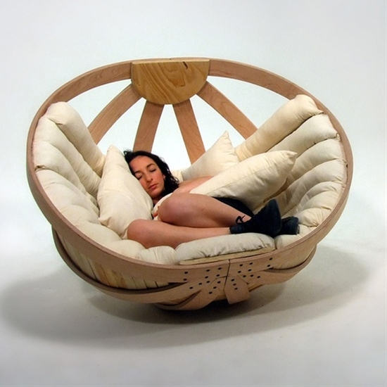 Cradle for Adults. This is going in my ocean-view treehouse loft.