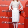 "Emma Stone Gets Lacy in Dolce & Gabbana at ""The Amazing Spider-Man 2″ Rome Photocall"
