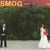 Modern SmogShoppe Wedding with Fuchsia Accents