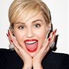 Miley Cyrus Rocks Pantyhose for Golden Lady Video by Terry Richardson
