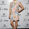 "Chloe Grace Moretz Dons Floral Miu Miu Dress at ""If I Stay"" New York Premiere"