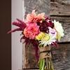 Marsala, Pink & Navy Asheville Wedding