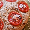 Gluten-Free Focaccia Recipe with Garlic + Tomato