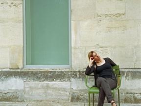 Outside the Jeu de Paume.Paris, 2014. by...