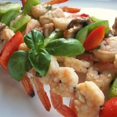 Garlic Balsamic Shrimp