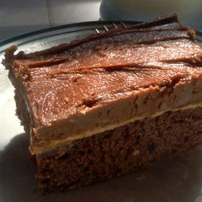 #recipe #food #cooking Peanut Butter Fudge Cake